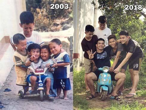 Tình anh em 15 năm vẫn vậy, chỉ có cân nặng là đổi thay-1