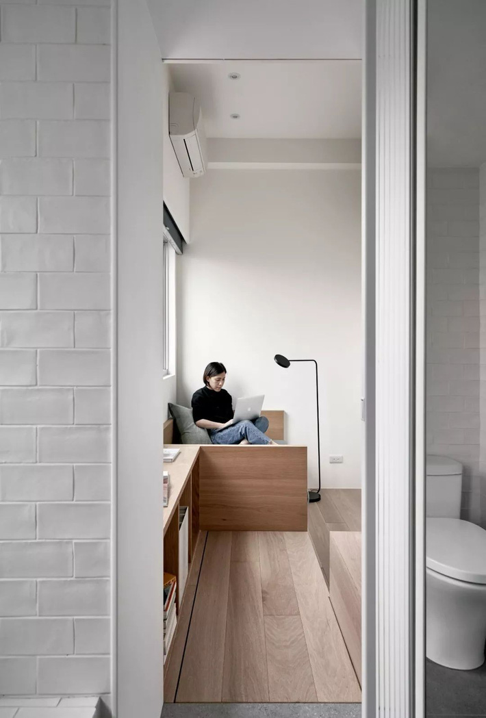 Căn hộ của cô gái độc thân chỉ 17.6m² mà ngỡ như 76m² với cách thiết kế thông minh-15