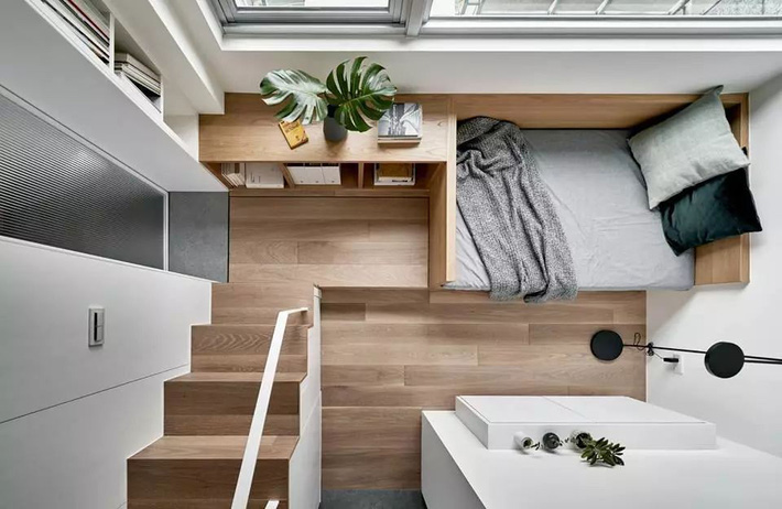 Căn hộ của cô gái độc thân chỉ 17.6m² mà ngỡ như 76m² với cách thiết kế thông minh-7