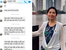 Có một người mẹ mang tên mẹ chồng: Thấy vợ chồng con trai cãi nhau liền ra tay xử lý, đọc tin nhắn mà ai nấy rưng rưng