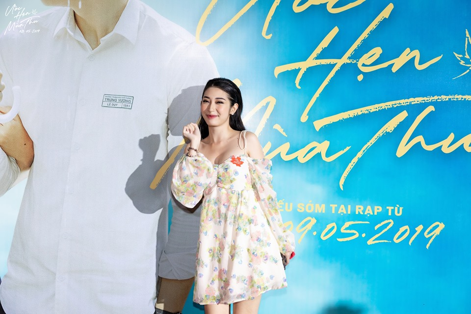 Hương Giang lộ bụng to tướng - Khổng Tú Quỳnh xuề xòa mặc váy ngủ dự sự kiện-1