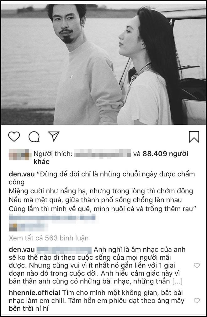 """H'Hen Niê thân thiết đăng ảnh chúc mừng sinh nhật Đen Vâu sau nhiều lần thả thính"""" công khai-5"""