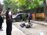 Nữ tài xế lùi xe Camry tông chết người đi xe máy là đại tá công an-2