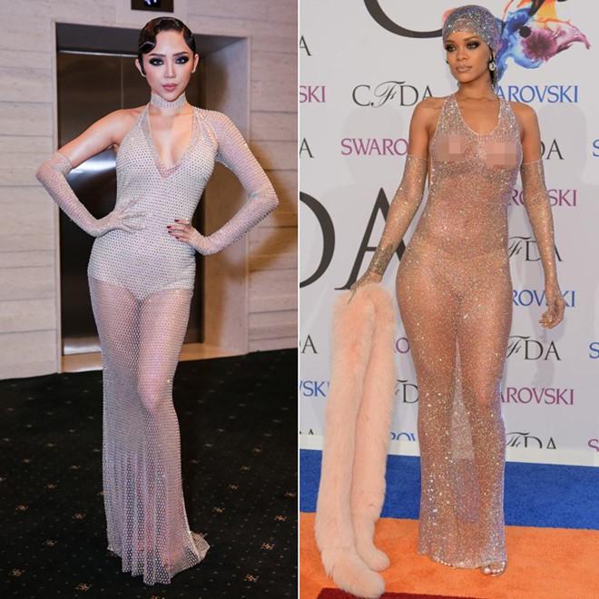 Tóc Tiên dọa oánh ai nghi ngờ mình mặc váy nhái siêu mẫu Kendall Jenner tại Met Gala 2019-8