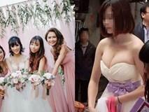 Cô dâu cấm bạn thân nâng ngực vì không muốn mình bị 'dìm hàng' trong đám cưới