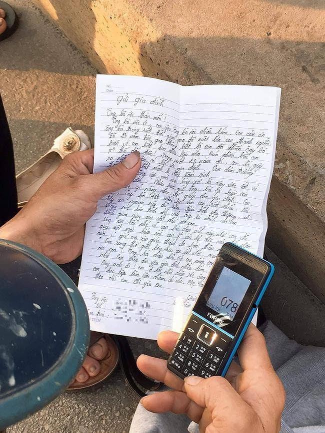 Xót xa lá thư gửi gia đình của cô gái trẻ trước khi nhảy cầu Bãi Cháy tự tử: Con sang bên kia, con rất nhớ và muốn gặp mẹ...-1