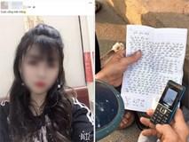 Xót xa lá thư gửi gia đình của cô gái trẻ trước khi nhảy cầu Bãi Cháy tự tử: