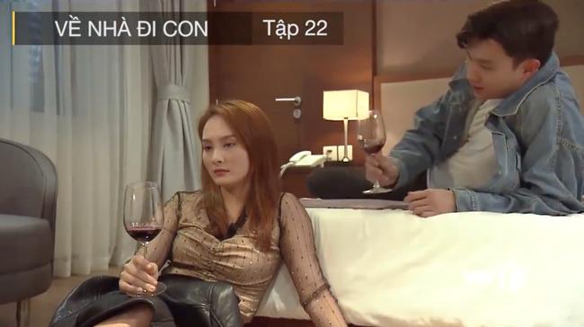Về nhà đi con tập 22: Thư vào khách sạn với Vũ thật nhưng không phải để lên giường mà lại làm việc này-3