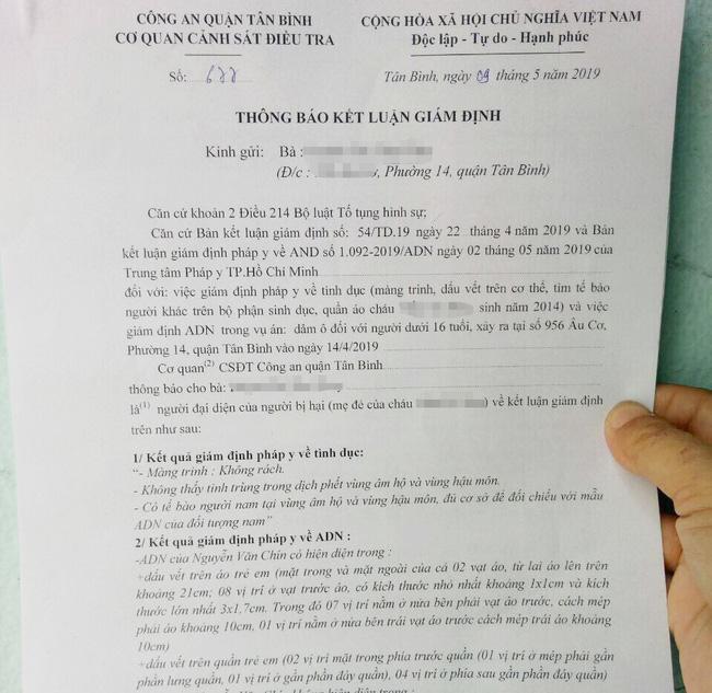 Tạm giam gã xe ôm 60 tuổi sàm sỡ bé gái 5 tuổi tại phòng trọ sau gần 1 tháng người mẹ làm đơn tố cáo-2