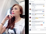 Phản ứng của Mỹ Tâm khi bị rình chụp trộm trên máy bay khiến fan nghi ngờ cô bị hack Facebook
