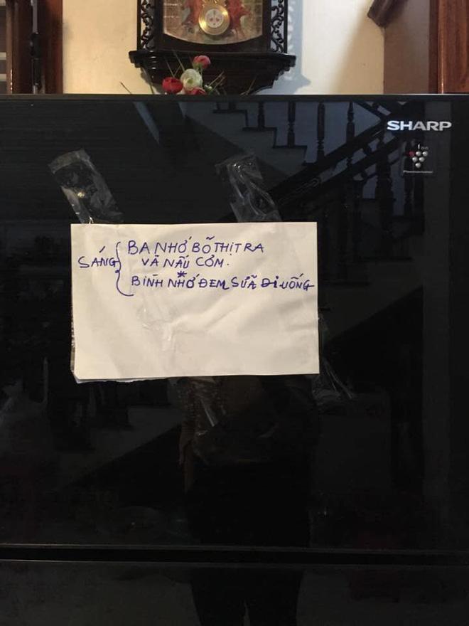 Người mẹ và những mảnh giấy viết tay gửi cho con khiến ai cũng rưng rưng muốn về nhà-4