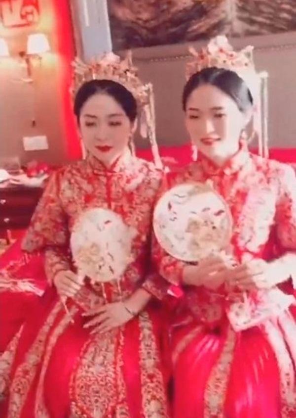 Tổ chức đám cưới cùng ngày, chị em cô dâu chơi chiêu đến nỗi chú rể cũng nhận nhầm vợ-3