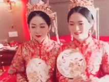 Tổ chức đám cưới cùng ngày, chị em cô dâu