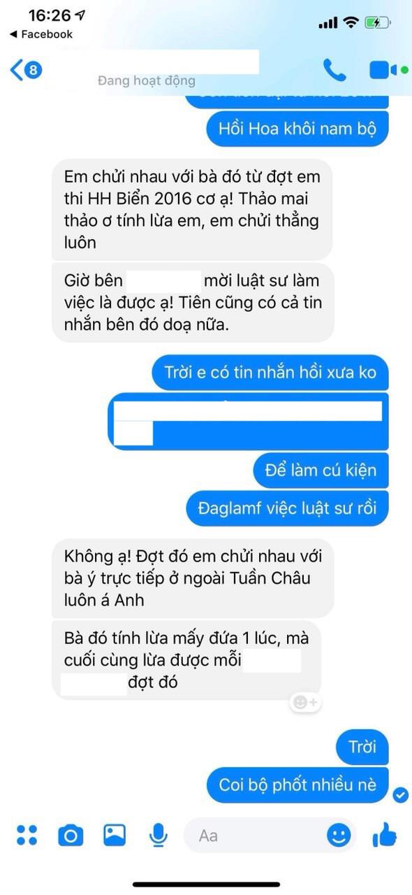 Người đẹp nhân ái Thùy Tiên gửi đơn tố cáo chị gái Hoa hậu Đặng Thu Thảo nằm trong đường dây lừa đảo thí sinh thi nhan sắc-5