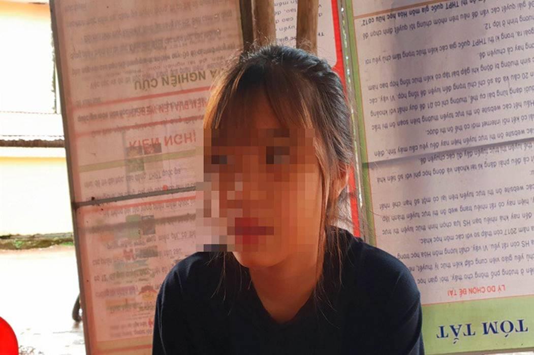 Bảo vệ bạn, nữ sinh ở Quảng Bình bị đánh gần 1 tiếng đồng hồ-1