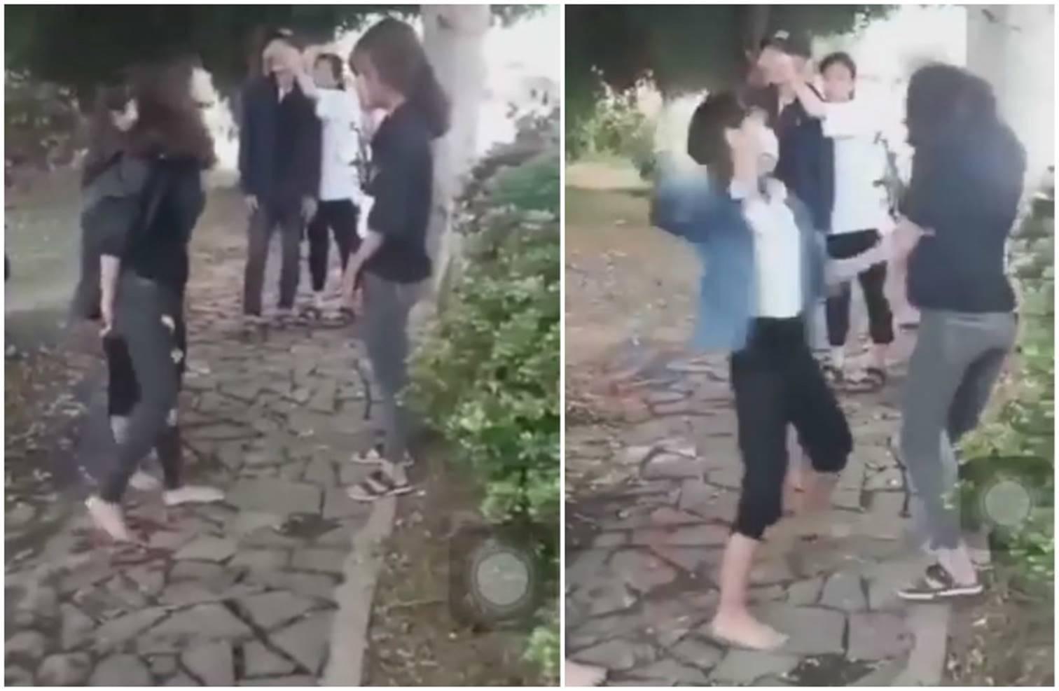 Bảo vệ bạn, nữ sinh ở Quảng Bình bị đánh gần 1 tiếng đồng hồ-2