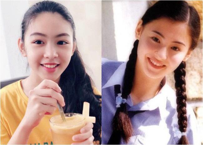 """Công chúa"""" 14 tuổi nhà Quyền Linh: Cao 1m7, sở hữu vẻ đẹp mong manh và được ví là bản sao của Trương Bá Chi-7"""