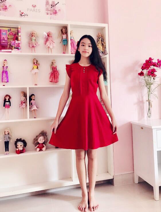 """Công chúa"""" 14 tuổi nhà Quyền Linh: Cao 1m7, sở hữu vẻ đẹp mong manh và được ví là bản sao của Trương Bá Chi-5"""