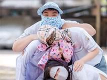 Thêm trào lưu chụp kỷ yếu mới: Đầu chồng đầu, mặc đồ như ninja