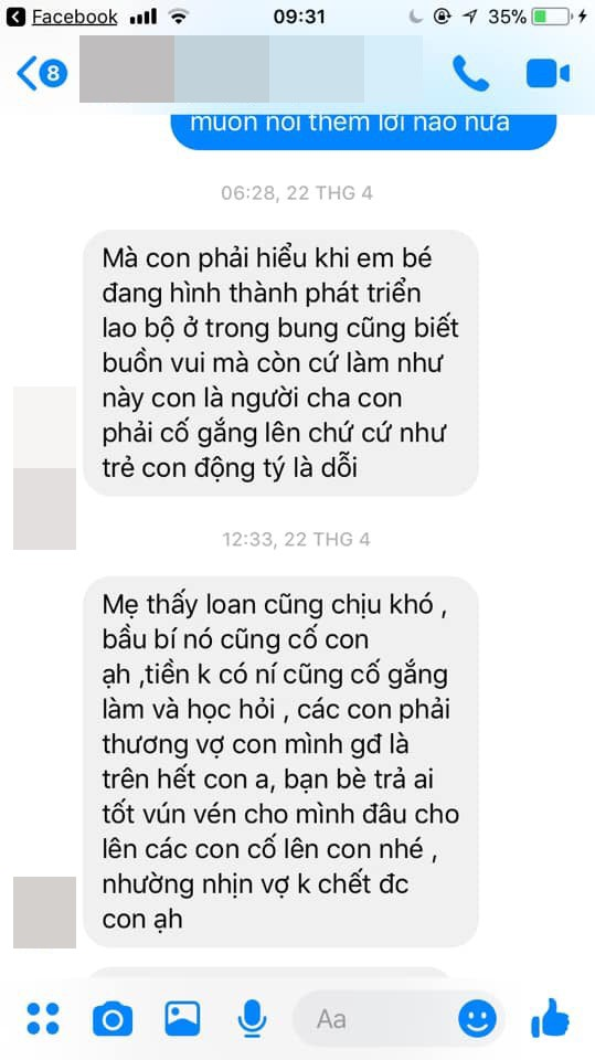 Vợ chồng cãi nhau và đoạn tin nhắn của mẹ chồng khiến hội chị em đồng loạt đưa ra 1 câu hỏi-1