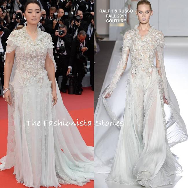 Ham váy vóc tùng xòe, Jessica suýt ngã và phải nhờ 2 người nâng váy tại thảm đỏ Cannes 2019-3