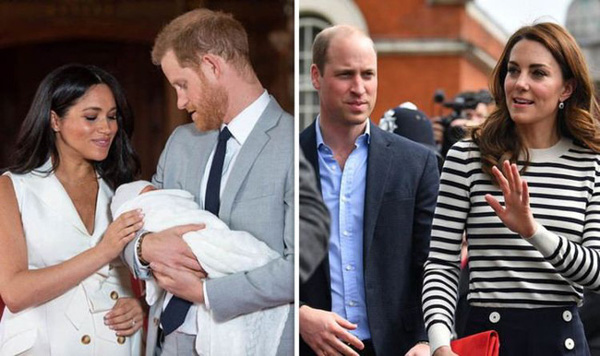 Cung điện hoàng gia chính thức lên tiếng về nghi vấn rạn nứt giữa hai cặp đôi hoàng gia khi vợ chồng Công nương Kate không đi thăm con trai mới sinh của Meghan-1