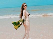 Tình cũ của Trường Giang tung ảnh bikini khoe đường cong 'bỏng mắt'