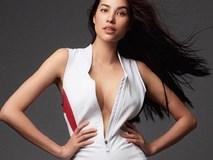 Hình ảnh Phạm Hương mặc áo phanh ngực, không nội y lại gây xôn xao