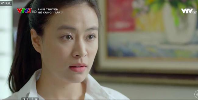 """Mê cung"""" tập 7: Khán giả khuyên Hoàng Thùy Linh nên nghĩ tới chuyện giảm cân, gương mặt to tròn, nhợt nhạt của cô lại bị chê bai-8"""