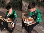 Bữa ăn vịt quay trị giá 380 nghìn đầy nước mắt của tài xế xe ôm khiến dân mạng bức xúc-4
