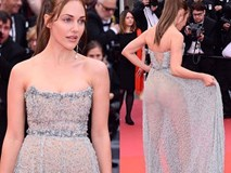 Ngay ngày khai mạc LHP Cannes 2019 đã có một người đẹp vô danh lộ nguyên cả