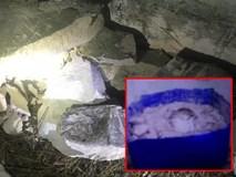 Hiện trường vụ phát hiện 2 thi thể giấu trong 2 khối bê tông tại phòng trọ gây chấn động