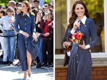 Lần diện đồ cũ này của Công nương Kate quá đặc biệt: Đụng