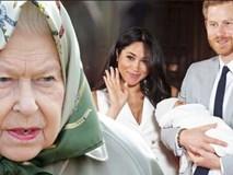 Vừa mới sinh con xong, Meghan đã bị các thành viên hoàng gia đưa ra lời