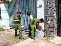 Cảnh sát vào rừng cao su, truy tìm dấu vết để phá án vụ 2 thi thể trong thùng nước đổ bê tông