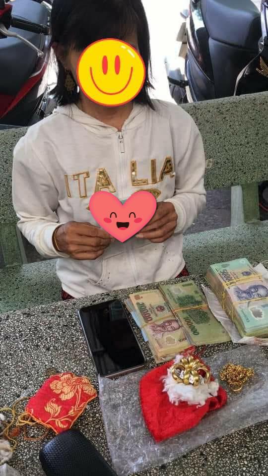 Cô gái 'ăn xin' bị công an bắt giữ vì trong người mang hơn 103 triệu và 5 cây vàng 9999?-3