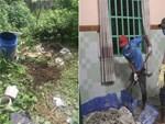 Vụ 2 thi thể bị đổ bê tông: Công an truy tìm 2 phụ nữ thuê nhà, một phụ nữ giống đàn ông-4
