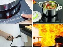 Sai lầm tai hại khiến bếp điện nổ như bom, lưu ý ngay kẻo hại cả gia đình