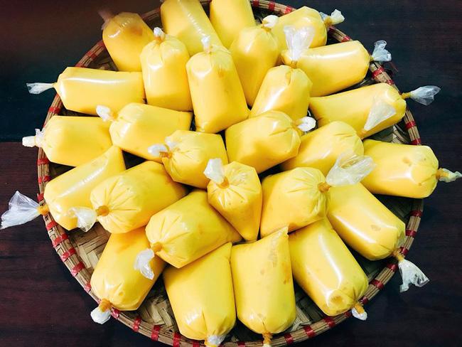 Nắng nóng cao điểm học cách làm kem xoài túi mát lạnh giải nhiệt-3