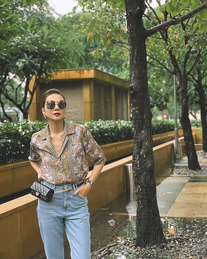 Kỳ Duyên khoe street style xuề xòa như bà đẻ giữa dàn mỹ nhân lên đồ nóng bỏng ngày hè-10