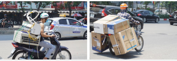 Nắng nóng đỉnh điểm ở Hà Nội, thợ điều hòa kiếm tiền triệu mỗi ngày-4