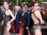"""Toàn bộ hình ảnh Ngọc Trinh ở Cannes với bộ cánh có như không"""" bị truyền thông quốc tế đăng tải, nhưng những ánh mắt ái ngại mới đáng chú ý-11"""