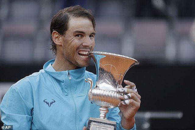 Đánh bại Djokovic, Nadal lần thứ 9 vô địch Italian Open-1