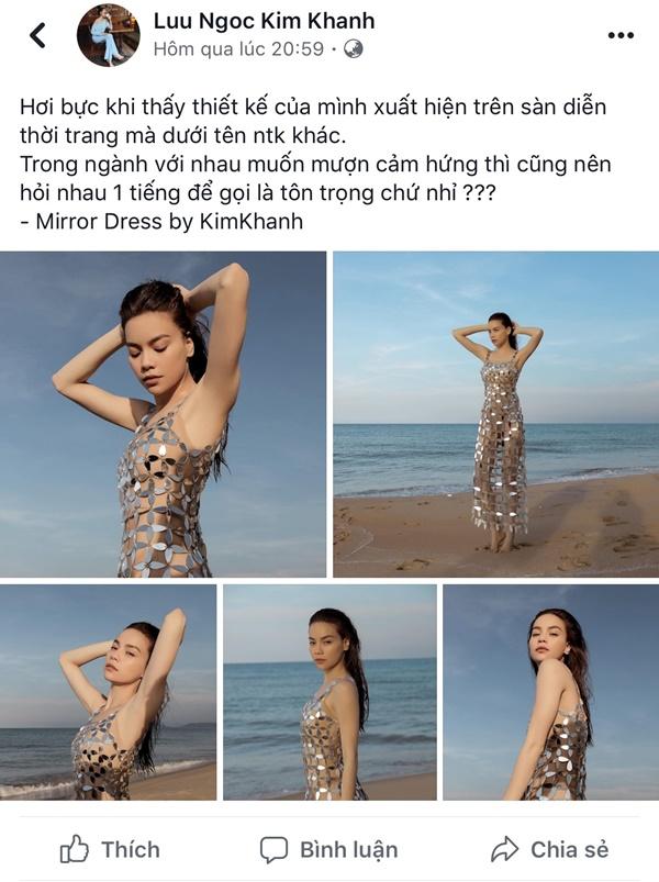 Minh Tú mặc thiết kế bị tố đạo nhái từ trang phục Hồ Ngọc Hà đã mặc trước đó 1 năm-4