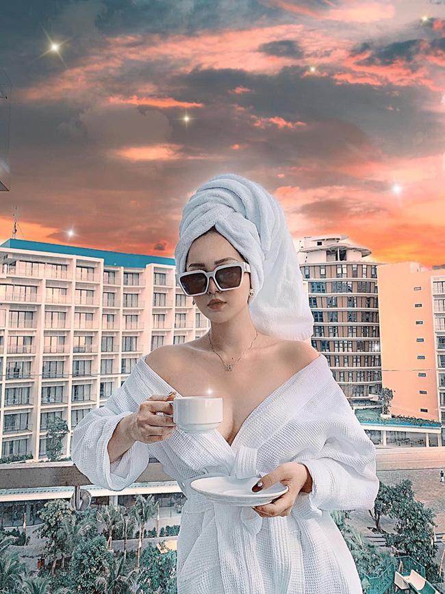 Cùng nhà nấm với chị họ Hương Tràm, hot girl Dư Hàng My chỉ cao 1m53 vẫn đốt mắt với body nuột nà, vòng 1 nóng bỏng-5