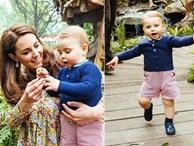 Sau tin đồn hôn nhân rạn nứt, Công nương Kate lặng lẽ 'đáp trả' bằng loạt hình gia đình chưa từng công bố, Hoàng tử út Louis trở thành tâm điểm nhờ điều này