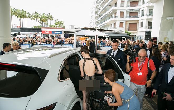 Khắc Tiệp tung bằng chứng Ngọc Trinh không bị ngó lơ tại Cannes-1