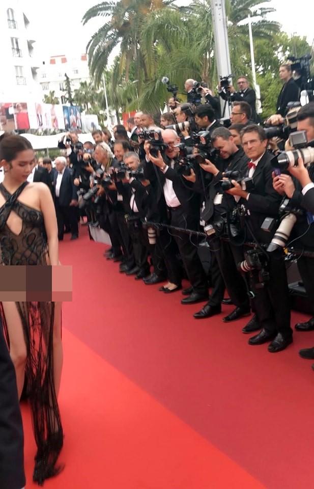Khắc Tiệp tung bằng chứng Ngọc Trinh không bị ngó lơ tại Cannes-2