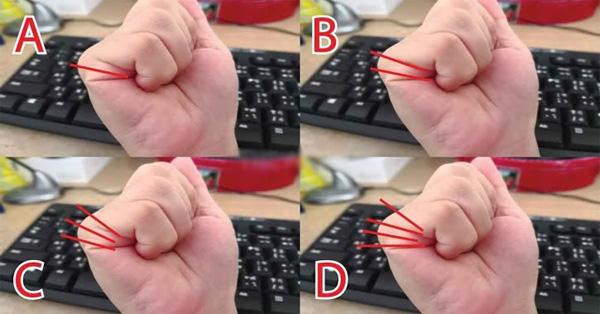 Nắm bàn tay rồi đếm đường chỉ rõ vận mệnh: 1 đường trí tuệ hơn người, 2 đường giàu có, 3-4 đường thì sao?-1