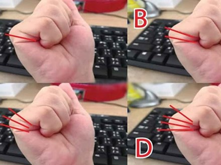 Nắm bàn tay rồi đếm đường chỉ rõ vận mệnh: 1 đường trí tuệ hơn người, 2 đường giàu có, 3-4 đường thì sao?